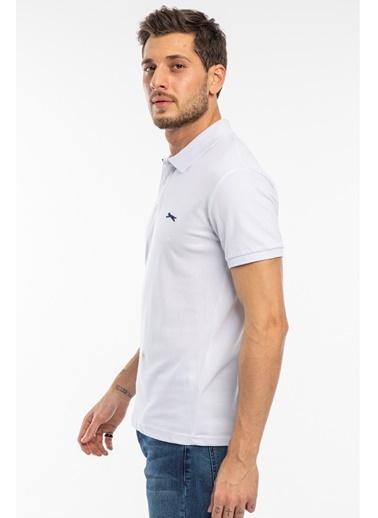 Slazenger Slazenger BAMBI Erkek T-Shirt  Beyaz